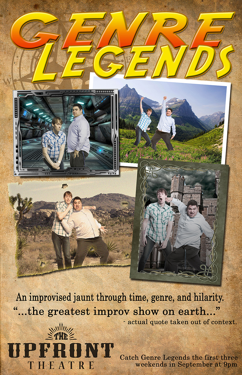 Genre Legends | The Upfront Theatre | Improv | Bellingham