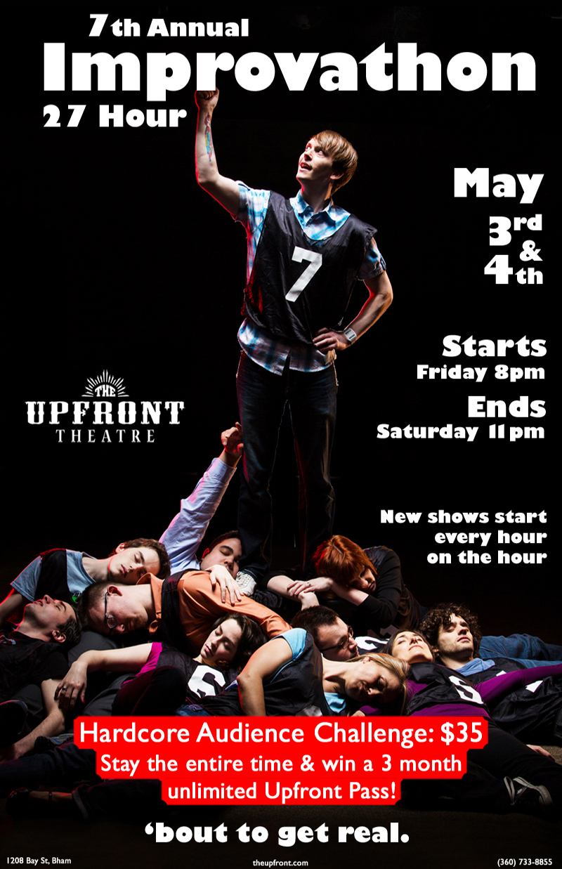 Improvathon | The Upfront Theatre