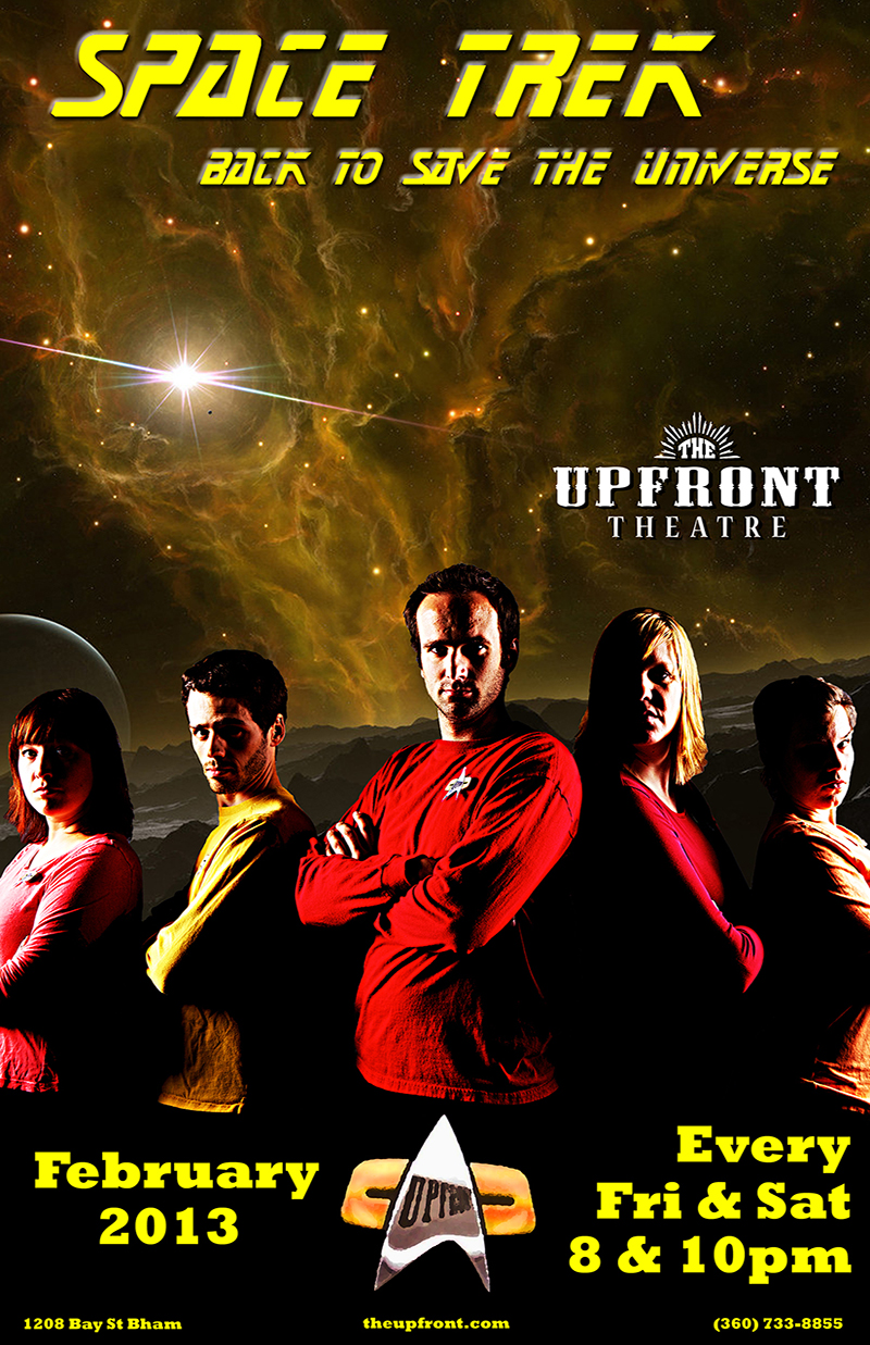 Space Trek | The Upfront Theatre