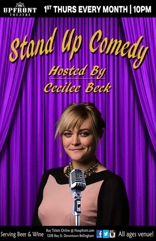 Stand Up Comedy | The Upfront Theatre