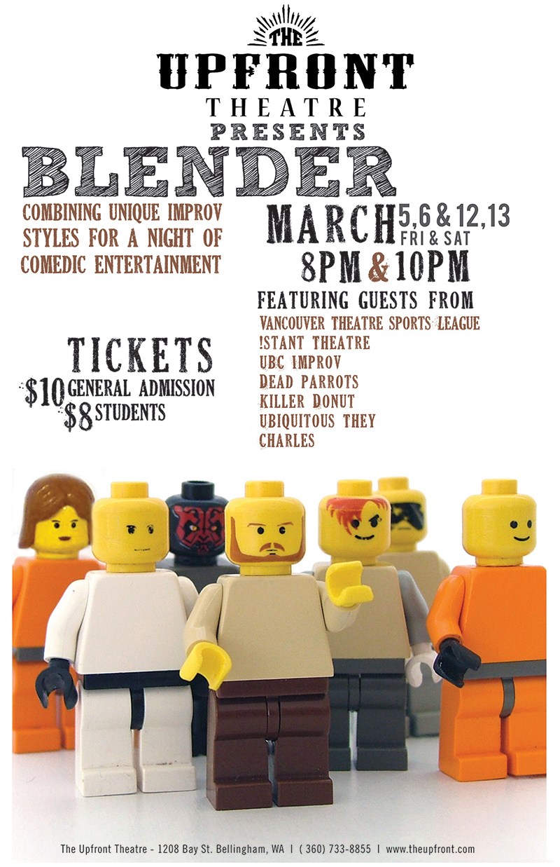 Blender | The Upfront Theatre