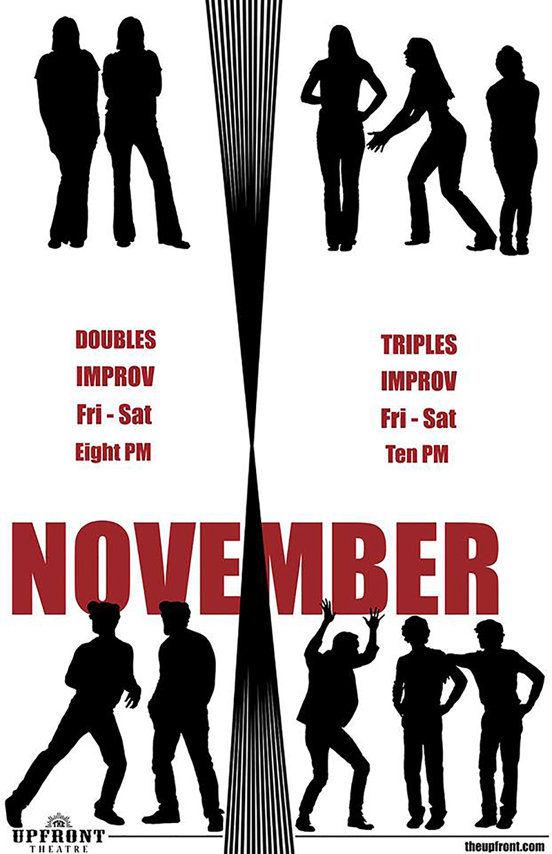 Doubles / Triples | The Upfront Theatre | Improv Comedy