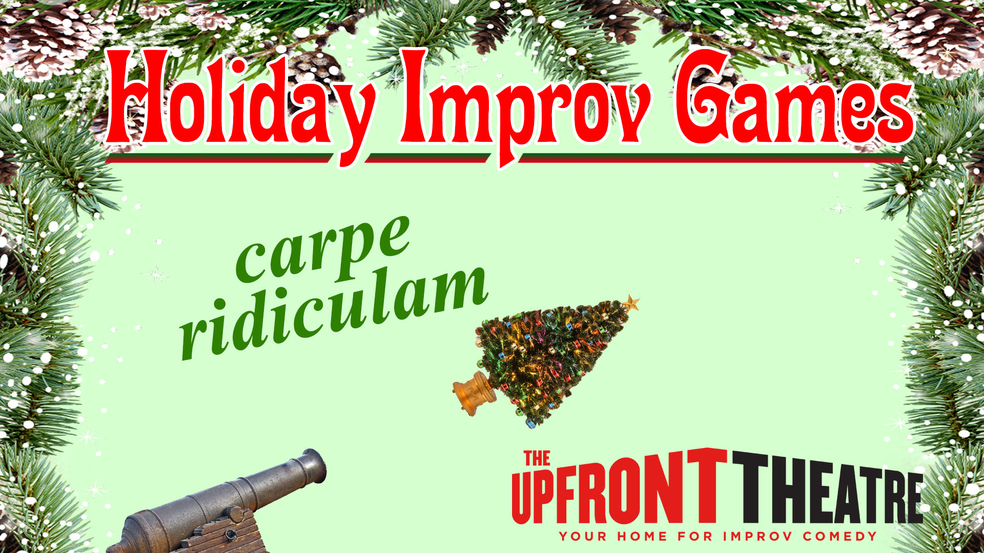 Holiday Improv Games | The Upfront Theatre