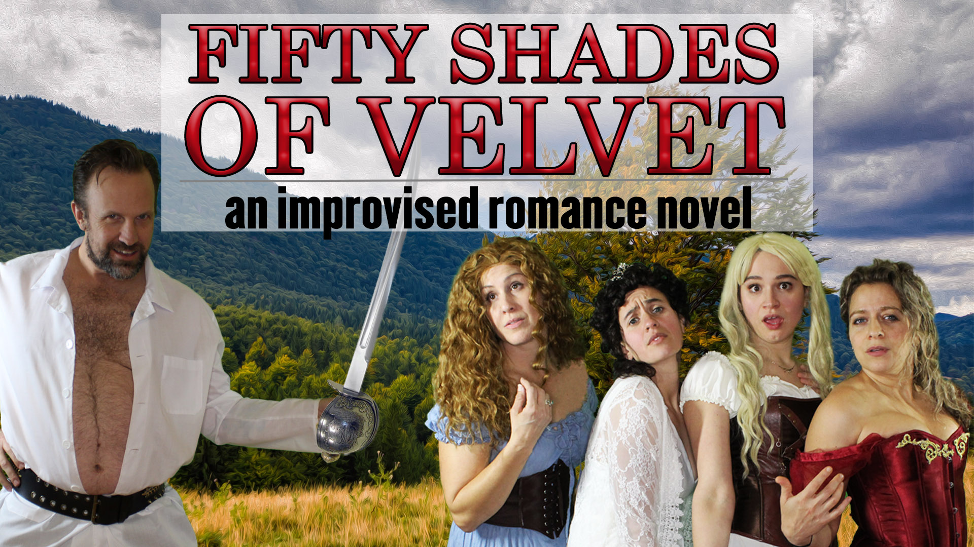Fifty Shades of Velvet | The Upfront Theatre